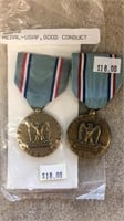 US Air Force Good Conduct Medals