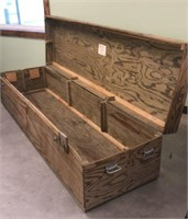 Very Large Wooden Crate