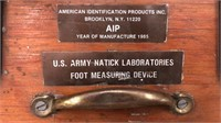 US Army Foot Measuring Device