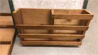 Wooden Holders & Small Pin Board