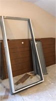 Door Frame, Paneling & shelves
