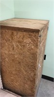 Wooden Cupboard With Shelves