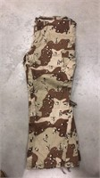 X-Large Desert Camo Pants
