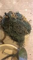 Tug Rope, Fish Net, Funnel, & Bowl