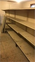 4 Sections of Shelving