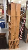 Wooden Display Crates