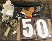 Large Lot of Odds & Ends