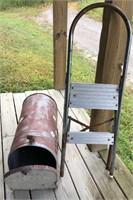 Mail Box & Step Ladder