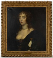 Old Master-style portrait of a lady, possibly circle of Anthony van Dyck, from a selection of Old Master-style art