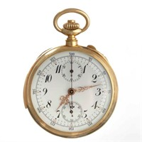 Swiss 18K repeater pocket watch
