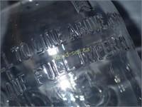 Antique Oil Bottle With Pour Spout