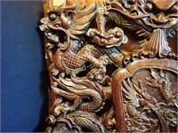 Majestic Vietnamese Carved Chair