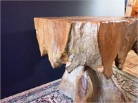 Square Top Teak Table