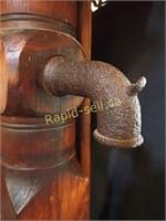Antique Wood Water Pump
