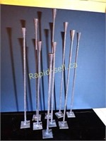 Wrought Iron Candlesticks