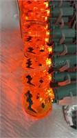 2 Sets 60 LED Pumpkin Lights - NIB