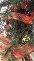"""Fall Lighted/Decorated Artificial Tree 54"""""""