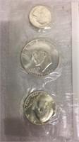US Bicentennial Silver Uncirculated Set