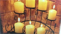 Fireplace Candelabra w/7 Candles