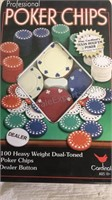Poker Chips & 4 Decks Of Cards (Bicycle cards