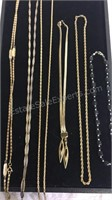 Assorted Costume Jewelry Necklaces Inc Monet
