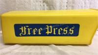 Vintage Free Press Plastic Mail Box
