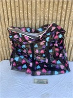 Large Heart Travel Bag