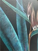 Large handmade wall painting-Lee Reynolds