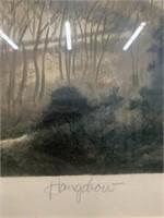 """Hangchow"" print by John Kelly"