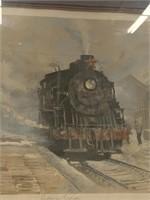 """Beijing Express"" print by John Kelly"
