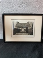 Japanese temple artwork