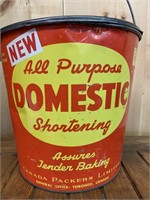 Canada Packers Domestic Shortening Pail