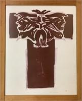 Rare Mayureak Ashoona Ltd Edition Lithograph
