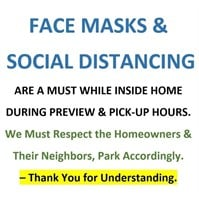 WE KINDLY ASK TO WEAR YOUR MASK WHILE AT HOME