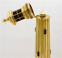 18K & amethyst Alfred Dunhill lighthouse lighter