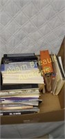 Assorted catalogs, wood patterns, repair manuals