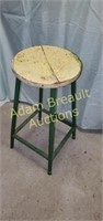 Steel frame 25 in bar stool