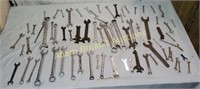 Large assortment combo wrenches
