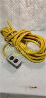 Heavy duty 50 foot extension cord and plug