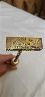 Hand Crafted By James Armstrong branding iron