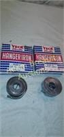2 Yeck flexible hanger iron 10ft coils