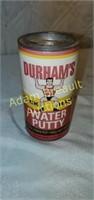 Vintage 16 oz Durham's rock hard water putty