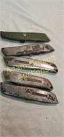 15 piece LED Precision knife set , 5 utility