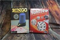 Bingo and Yahtzee Games  NEW