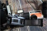Vintage Vivatar XC-4  w/ lenses and case