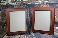 Lot of 2 Nice Photo Frames