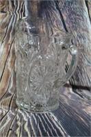 Beautiful Vintage Cut Glass Pitcher