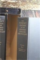 Vintage Compact Edition Oxford English Dictionary