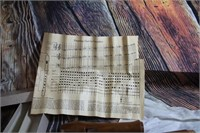 Vintage Clarion Wood Recorder w/ Cleaning supplies