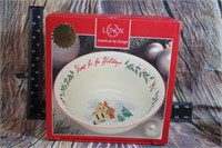 Lenox Home for the Holidays Bowl NEW